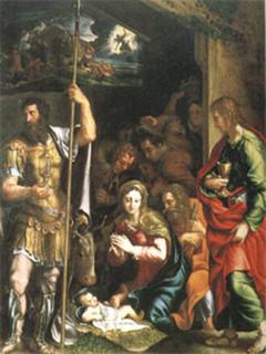 The Nativity and Adoration of the Shepherds, Giulio Romano