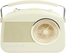 König AM/FM-radio i retrodesign