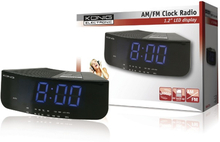 König Clock Radio AM / FM