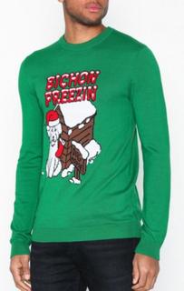 Topman Bichon Freeze Crw Trøjer Grøn