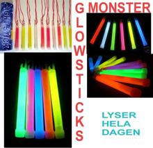 Glowsticks 10-pakk - Mixed