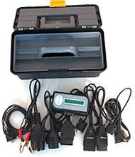 10 i 1 servicelampe, nulstillings værktøj til biler