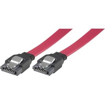 SATA/SAS-kaapeli, lukko-solki, suora-suora, 0,5m