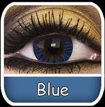 Värilliset linssit Phantasee Natural Sininen 699139235e
