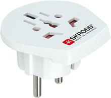 SKROSS Matka-adapteri US/UK/EMEA EU