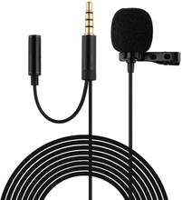 Mikrofoni klipsillä, AUX-uros AUX-naaras