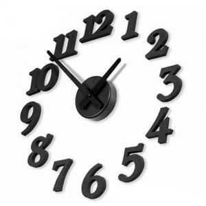 Seinäkello - suuret numerot