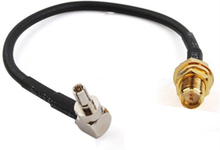 Antenne adapter CRC9 Male til RP-SMA Female