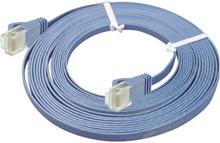 UTP Cat6 tynd flad kabel 50m