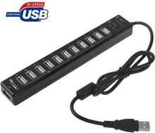 12-Porttinen USB 2.0 HUB