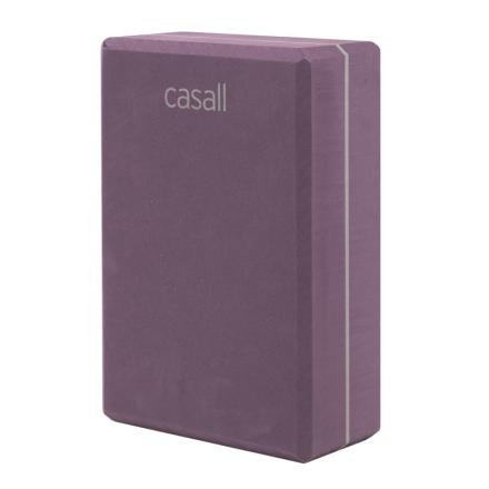 Casall Yoga Block träningsredskap Lila OneSize