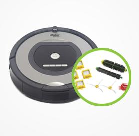 iRobot Roomba 772 inkl. tilbehørskit
