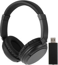 Trådløse Hi-fi stereoheadset - FM + Volumkontroll