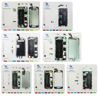 Magneettinen Ruuvimatto 7 in 1 iPhone 6s- iPhone 4