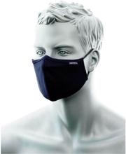 Munskydd tvättbart med näsklämma - Marinblå