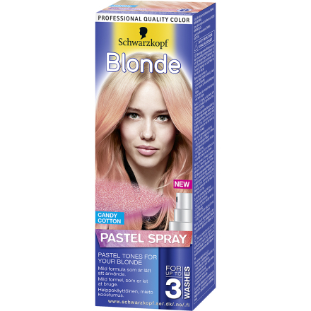 Blonde Schwarzkopf Poispestävä hiusväri