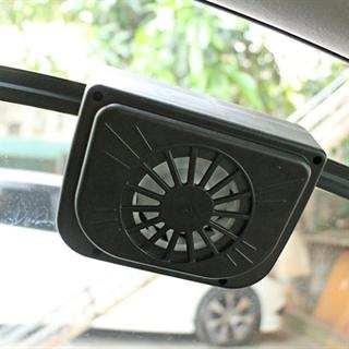 Solcellsdriven bilfläkt för fönstret - Håll bilen sval