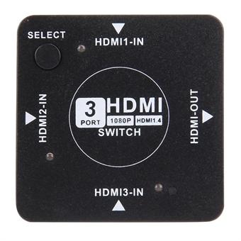 HDMI Auto Switch / jakaja 3 Porttinen 1.4 Versio 1080P