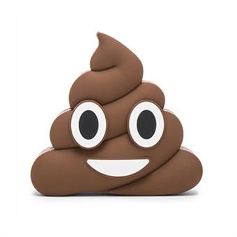 Emoji Powerbank 2600mAh - Poop Design, Coolaste extra batteriet någonsin