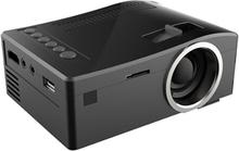 Digitaalinen LED Projektori 150 Luumenia - Kaukosäädin / USB / SD / VGA / HDMI