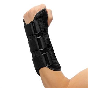 Utvidet håndleddsbeskyttelse med skinne - Venstre hånd