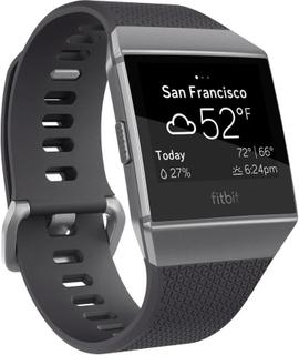 Smartwatch FitBit Ionic Charcoal/Smoke Gray