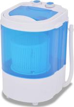 vidaXL Minitvättmaskin med enkel trumma 2,6 kg