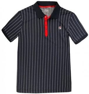 FILA Polo Stripes Piké (M)