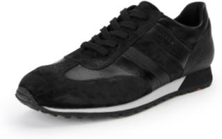 """Sneaker """"Agon"""" i äkta läder från Lloyd svart"""