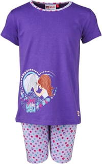 Pyjamas Lego Friends, Albertine 907, Lila, stl 128, Lego Wear