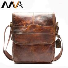 MVA Men's Genuine Leather Bag Crossbody Bags for Men Messenger Bag Men Leather fashion Men's Shoulder Bags Male Handbags 1121