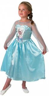 Snödrottningen Elsa-klänning, stl128, Disney Frost