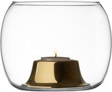 Kaasa kynttilälyhty Klar /roseguld