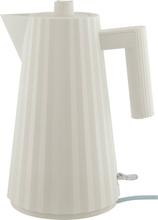 Alessi MDL06 Plissé vattenkokare 1,7 liter, vit
