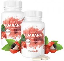 Pure Guarana Capsules - Energigivende Frukttilskudd Fra Amazonas - 1200mg i 90 kapsler - 2-pakning