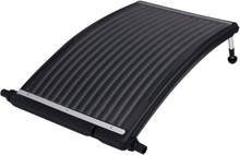 vidaXL soldrevet varmepanel til pool 110x65 cm buet