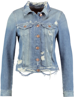True Religion Jeansjacka blue denim