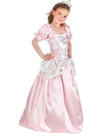Rosa och Vit Prinsessdräkt för Barn