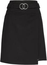 Skirt Short Classic Knelangt Skjørt Svart Betty Barclay
