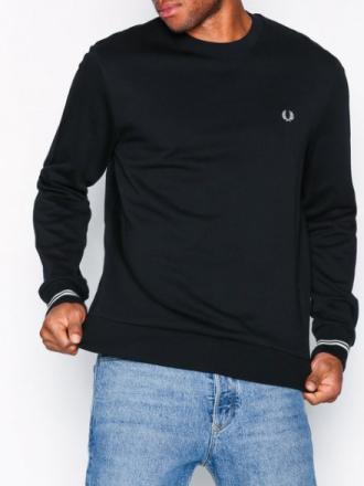 Fred Perry C/N Sweatshirt Puserot Black
