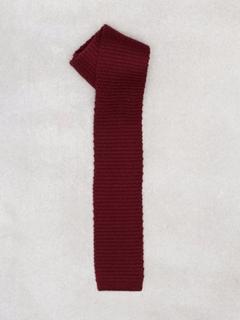 Amanda Christensen Knitted Tie Slips & sløyfer Bordeaux