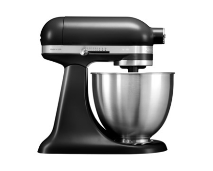 KitchenAid Artisan Mini Køkkenmaskine 3,3 liter Mat Sort