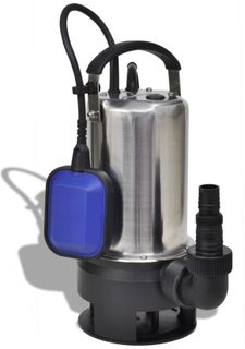 vidaXL Dränkbar smutsvattenpump 1100 W 16500 l/h