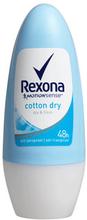 Cotton Dry Deodorant RollOn, 50 ml