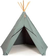 Roommate Hippie Tipi - Lektält - 100% Ekologisk Bomull - Sea Grey