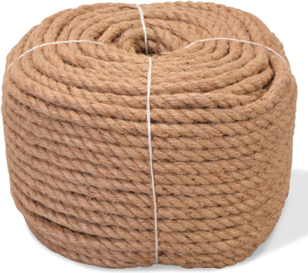 vidaXL Rep 100% Jute 12 mm 100 m