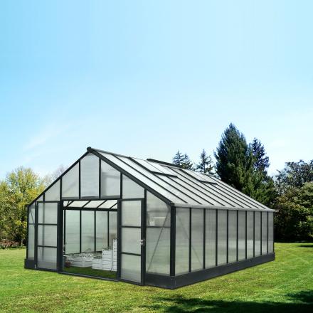 Växthus 36,8m² Premium