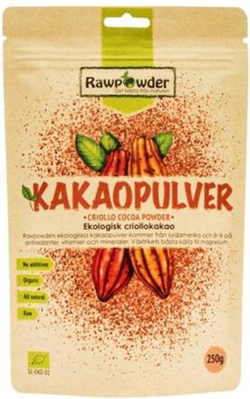 Rawpowder Kakaopulver 250 g