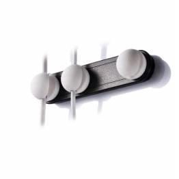 Lead Trend Holder Plus Magnetisk kabel holder Hvid