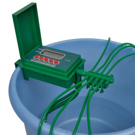 vidaXL Automaattinen Kastelujärjestelmä Sadettimella ja Ajastimella